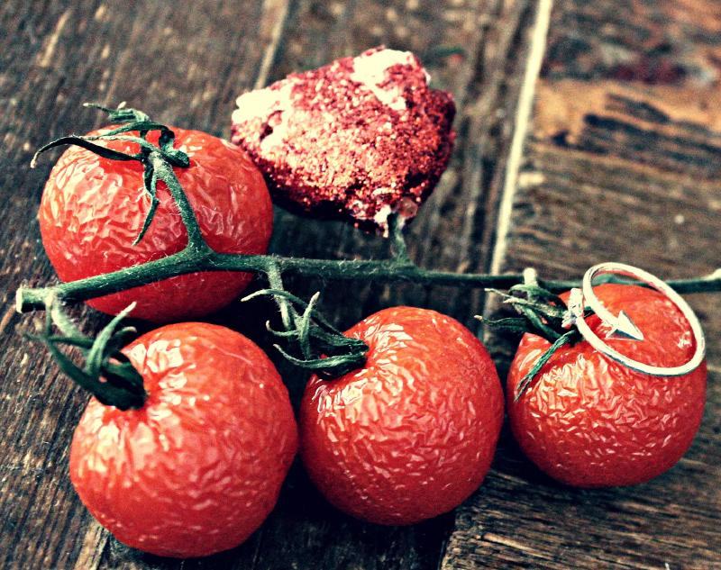 Когда завяли помидоры...