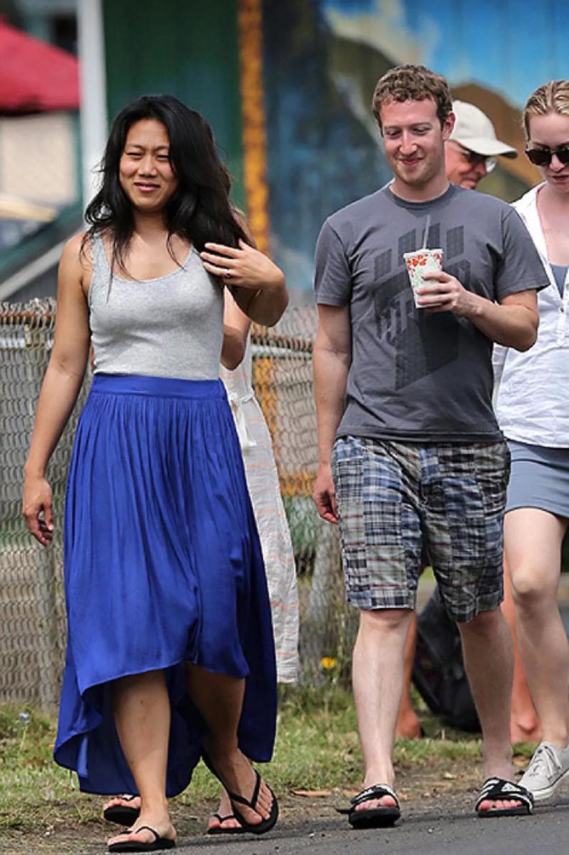 Даже Марк Цукерберг предпочитает простую одежду. Вряд ли Присцилла Чан против